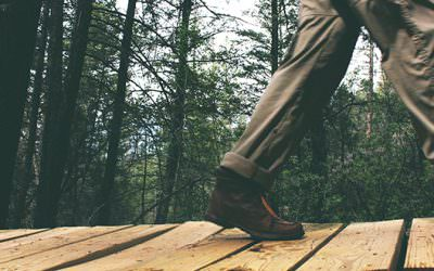 Walking a 'gait-way' to back pain relief