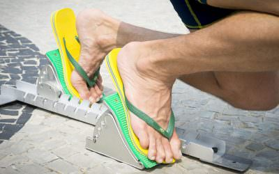 Summer Pro Tip: Wear your flip-flops with caution